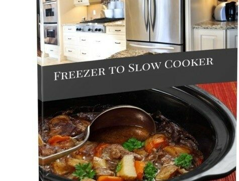Freezer to Slow Cooker Blank Week