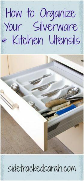 Organize Silverware