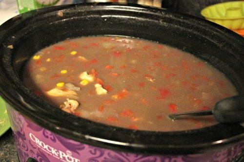 Santa Fe Chicken Soup 2