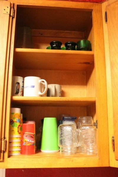 Cup Cabinet - After