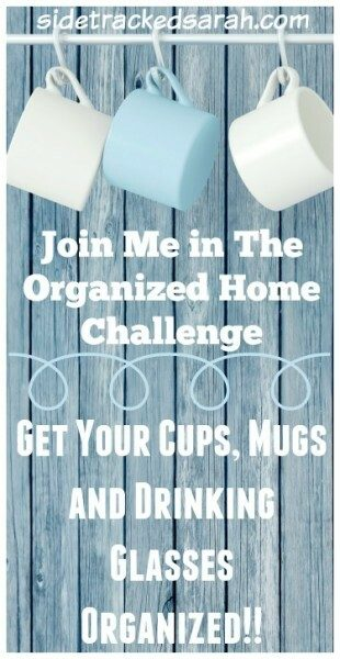 Cups, Mugs Organized - Pinterest