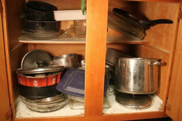 Marvelous My Baking Cabinet   Before