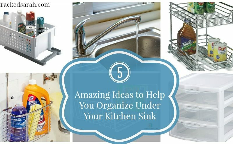 5 Amazing Ideas to Help You Organize Under Your Kitchen Sink