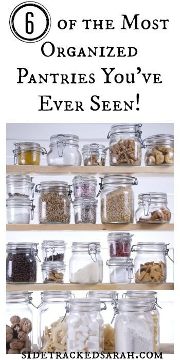 6 of the Most Organized Pantries You've Ever Seen!