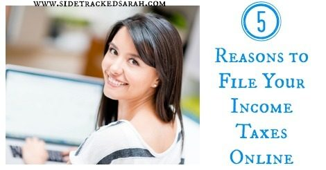 5 Reasons to File Taxes Online!