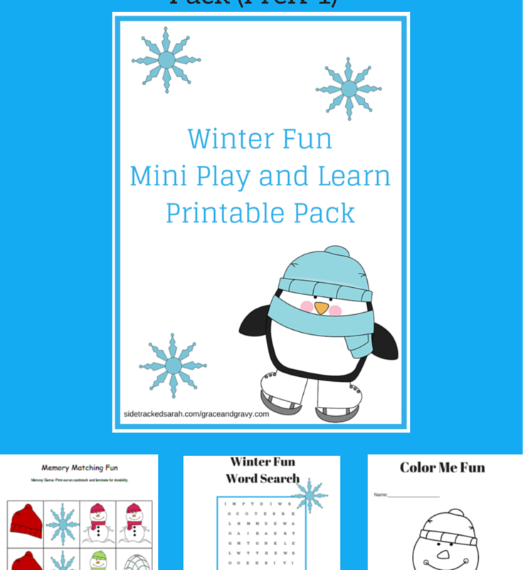 *FREE* Winter Fun Mini Play and Learn Printable Pack
