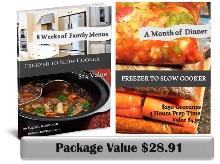 Sidetracked Sarah Slow Cooker Meals