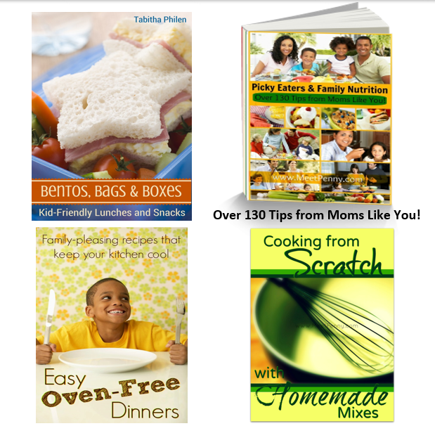 Meet Penny ebooks for family meals