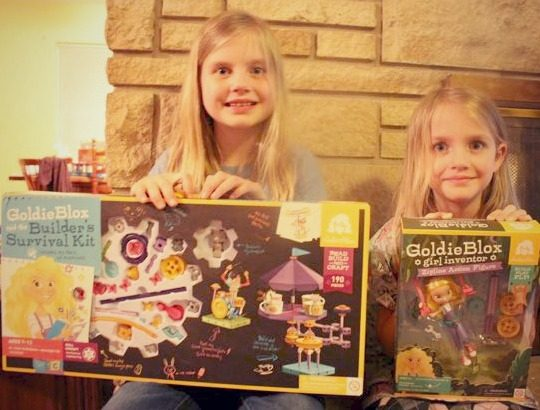 GoldieBlox - Excited