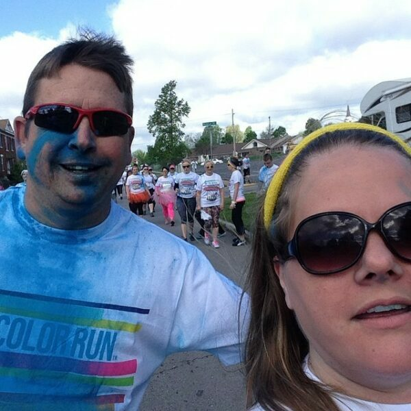 The Color Run During
