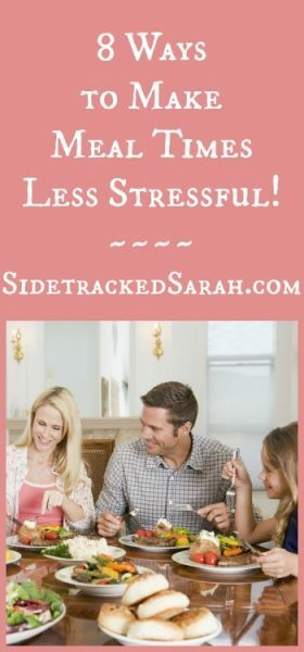 How to Make Meal Times Less Stressful!