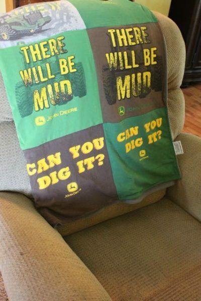John Deere T-shirt Quilt 3