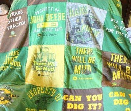 John Deere T-shirt Quilt 5