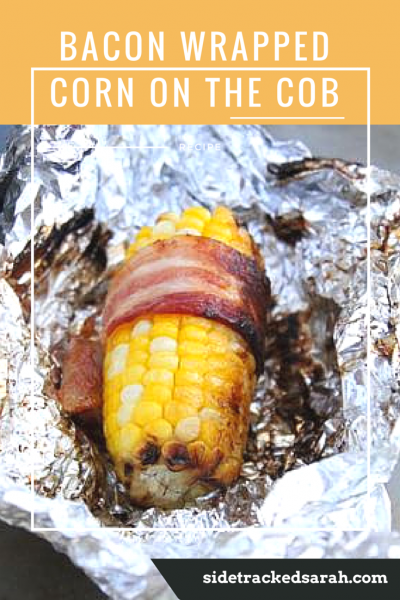 Bacon WrappedCorn on the Cob