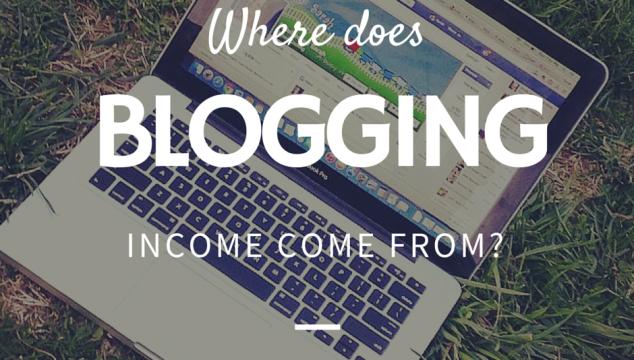 Blogging Incom