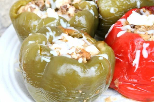 Slow Cooker Stuffed Peppers REcipe