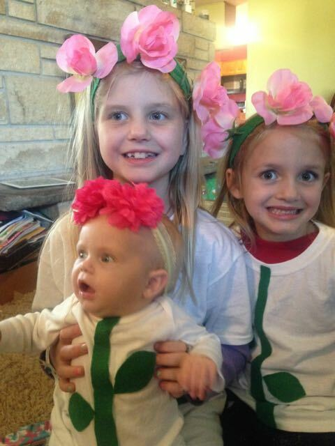 How to Make a Homemade Flower Costume