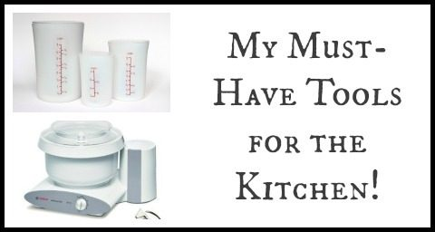 My 5 Must-Have Kitchen Tools