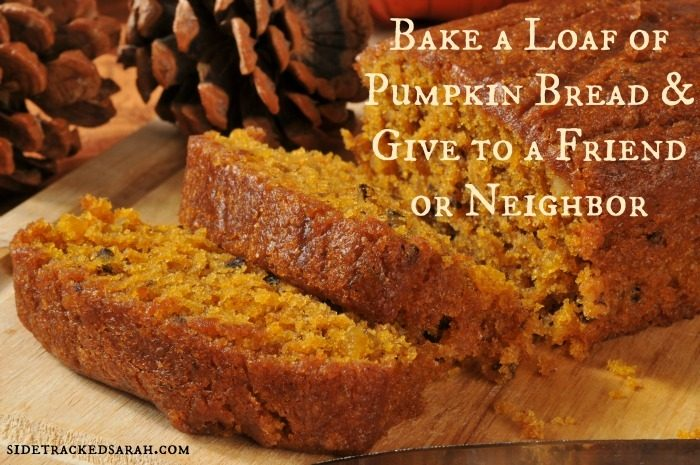 Bake a Loaf of Pumpkin Bread