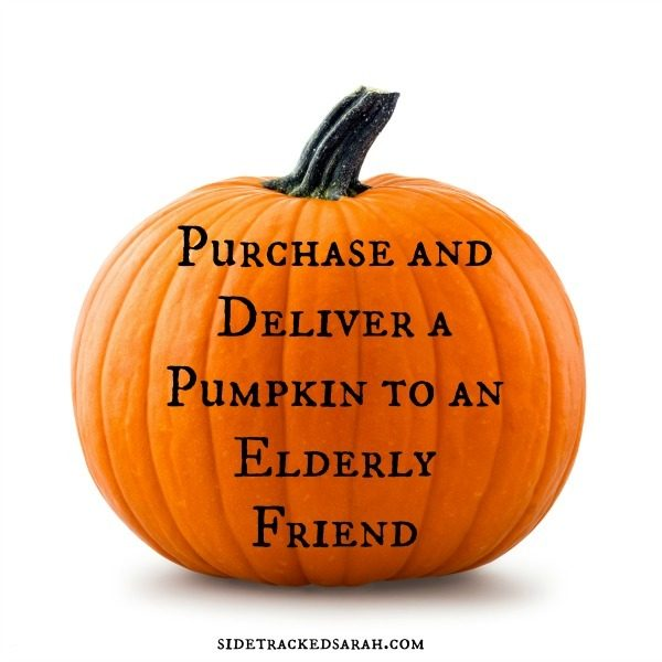 Oct15 - Purchase Pumpkin for friend