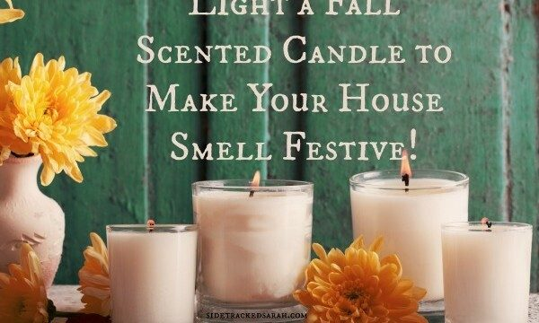 Light a Fall Scented Candle