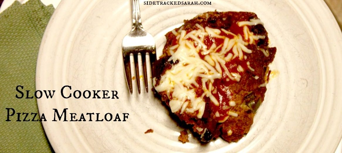 Slow Cooker Pizza Meatloaf