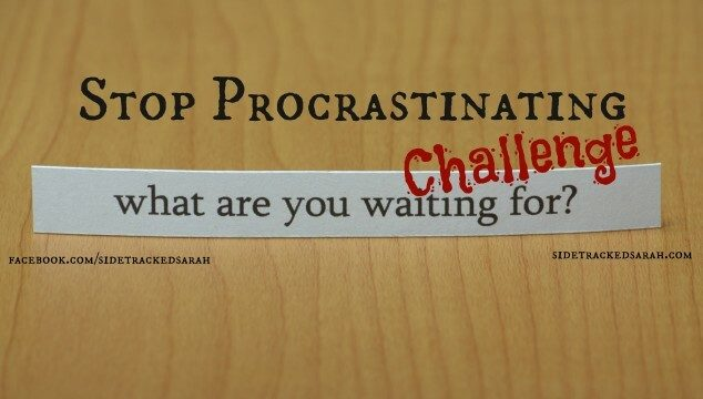 Stop Procrastinating Challenge