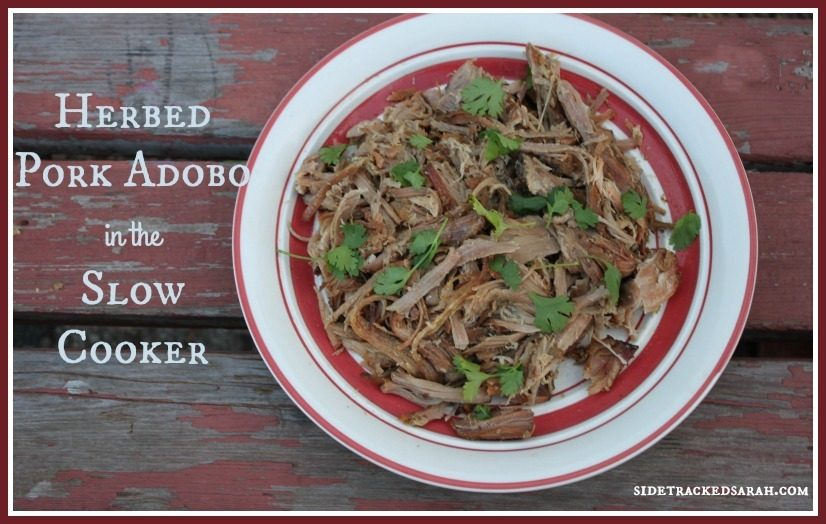 Herbed Pork Adobo