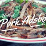 Pork Adobo in the Slow Cooker