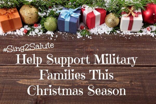 #Sing2Salute to Help Military Families This Christmas Season