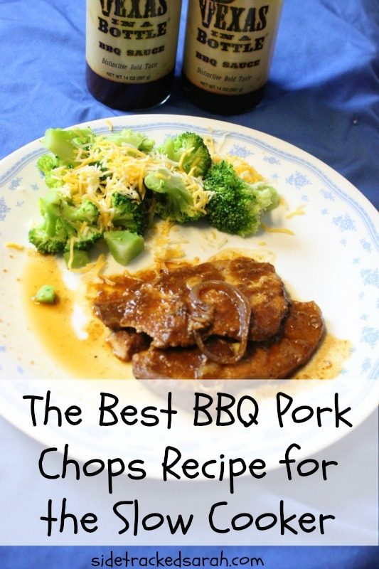BBQ Pork Chops - Texas in a Bottle