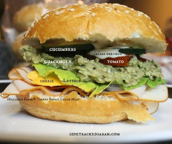 Turkey Guacamole Sandwiches or Low Carb Wraps