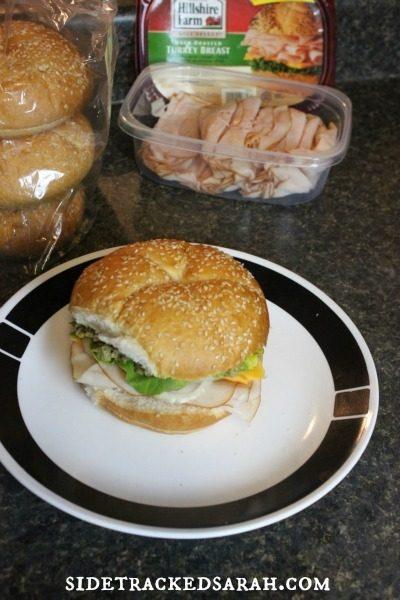 Hillshire Farms Sandwich