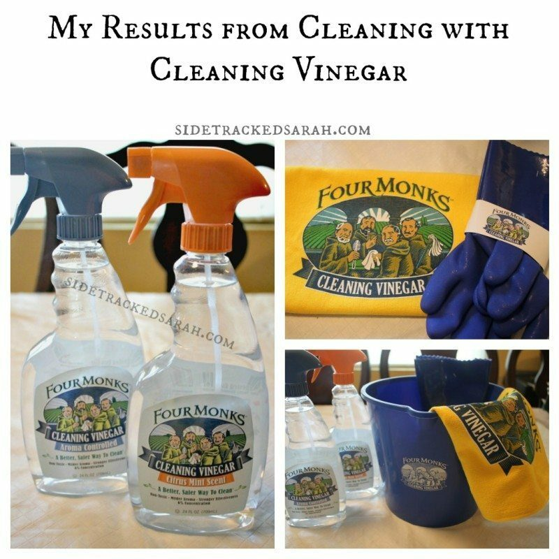 My Results from Cleaning with Cleaning Vinegar