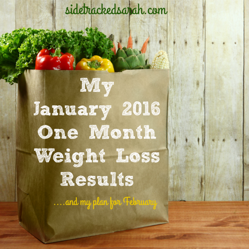 My 4 Week Weight Loss Results
