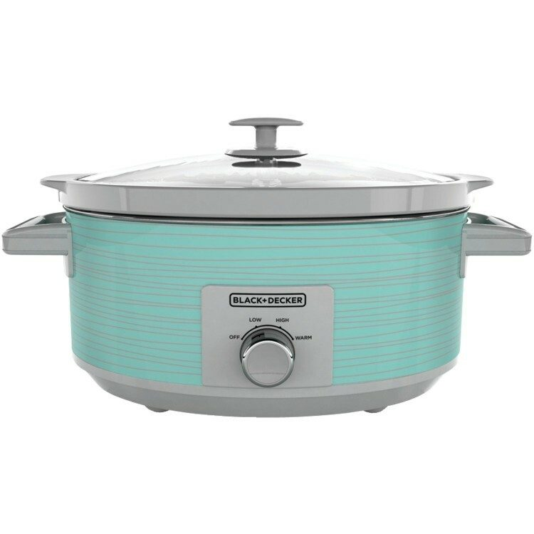 Blue Slow Cooker