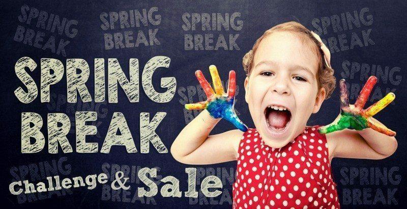 Spring Break Challenge & Crockpot Freezer Meals SALE!