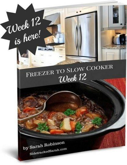 Freezer to Slow Cooker, Week 12 Book Cover
