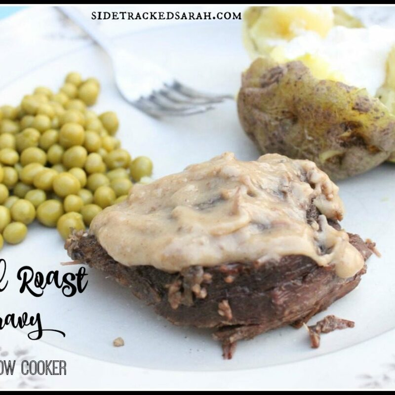 Herbed Roast & Gravy in the Slow Cooker