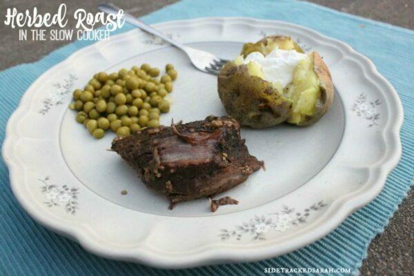 Herbed Roast in the Slow Cooker