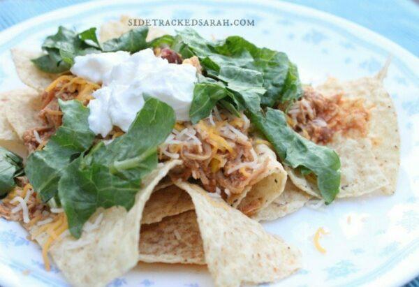 Mexican Chicken Nachos 2