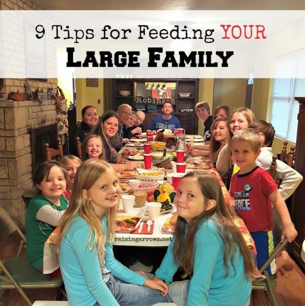 Feeding Your Large Family