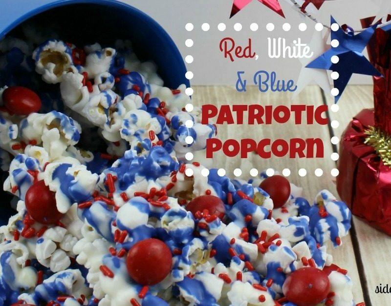 Red, White & Blue Patriotic Popcorn