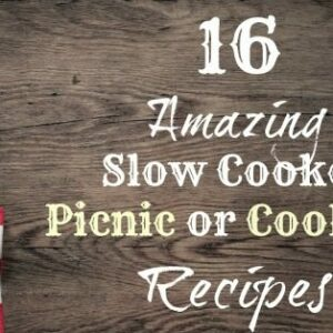 Slow Cooker PIcnic Recipes