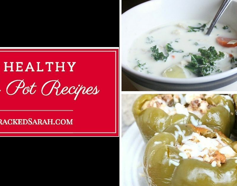 10 Healthy Crock Pot Recipes [Freezer to Slow Cooker]