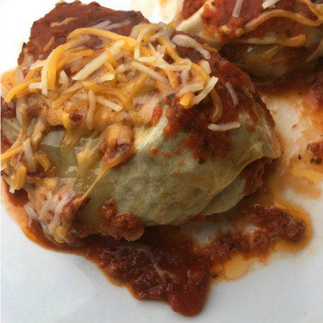 Healthy Slow Cooker Cabbage Roll Recipe