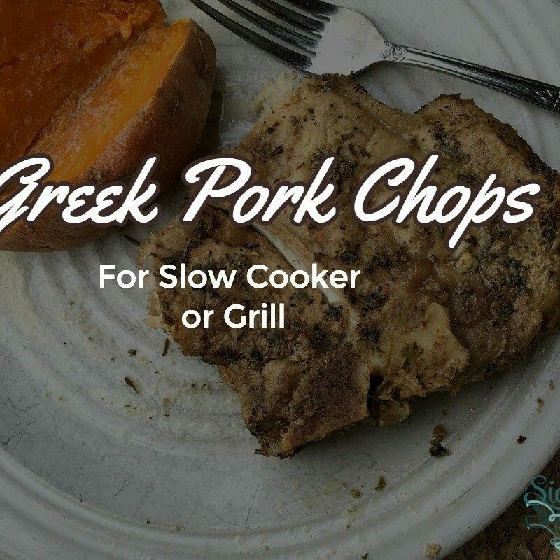 Crock Pot Pork Chops Marinade for Slow Cooker or Grill