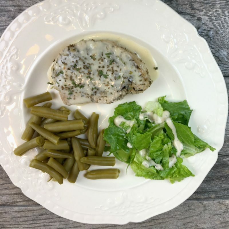Crock Pot Pork Chops with Cream Sauce (or cook in the Instant Pot)