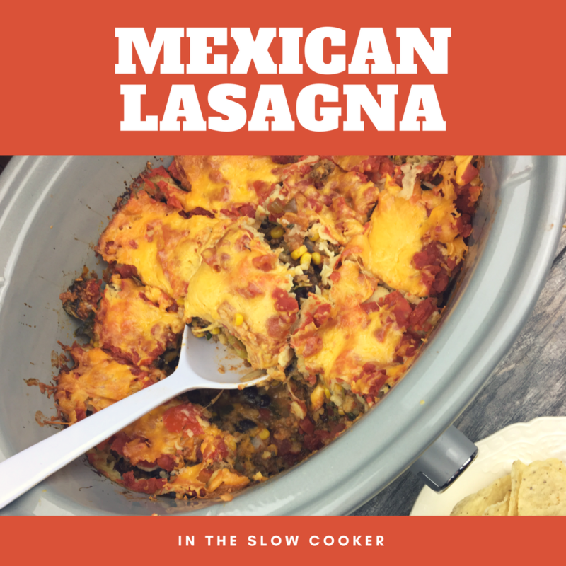Slow Cooker Mexican Lasagna – Delicious and Simple + a Giveaway!