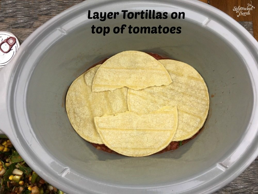 Mexican Lasagna - Corn Torilla Layer